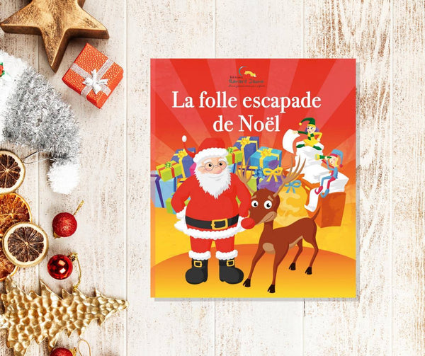 La folle escapade de Noël (couverture souple - Fille)
