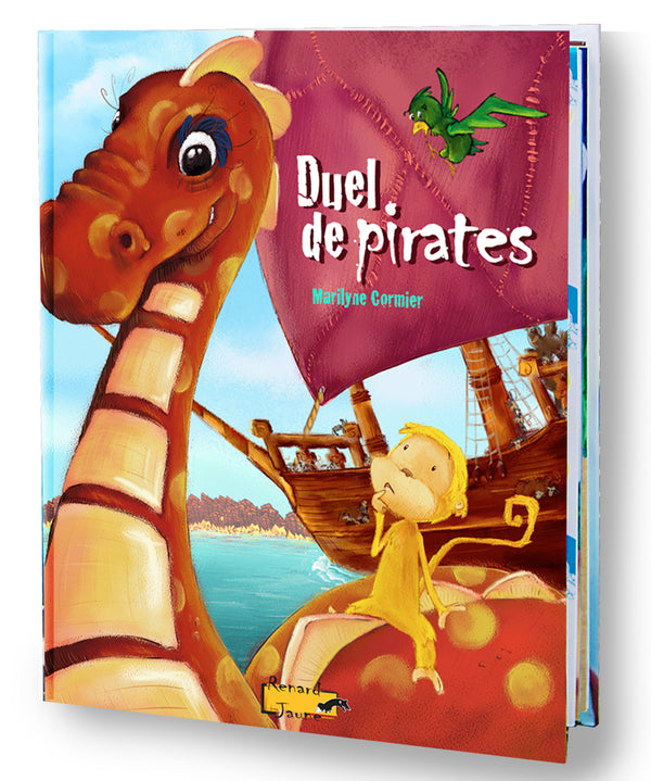 Duel de pirates (Couverture rigide - Fille)