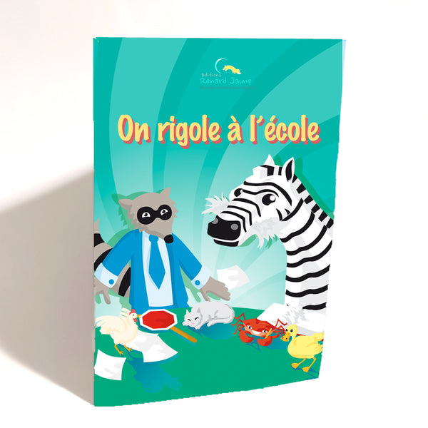On rigole à l'école (mini souple - Fille)