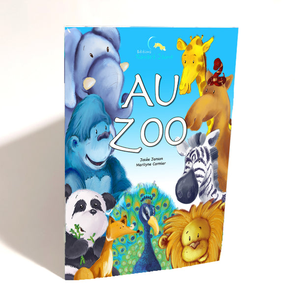 Au Zoo (mini-broché - Fille)