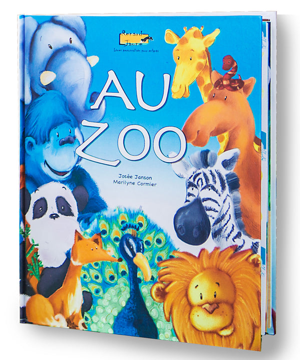 Au Zoo (Couverture rigide - Fille)
