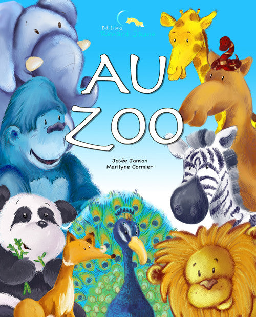 Au Zoo (Couverture souple - Fille)