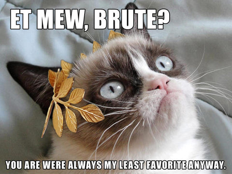 Ides of March...Et Mew Brute??