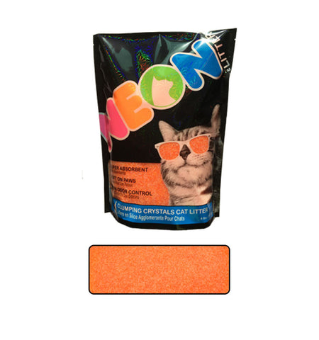 NEON Cat Litter Orange