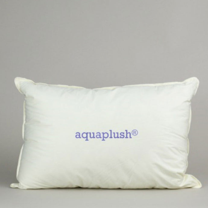 Aqua Plush Bed Pillow Pillow