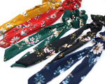 Floral Hair Scarf Scrunchies 5 Colors