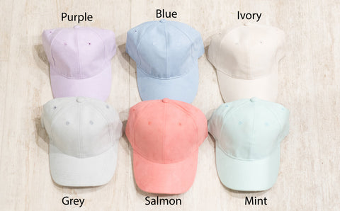 Suede Hats 6 Colors