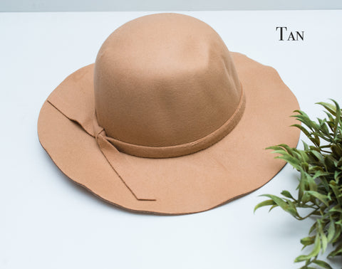 Children's Wide Brim Floppy Hat