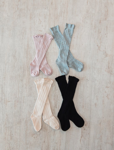 Children's Cable Knit Socks
