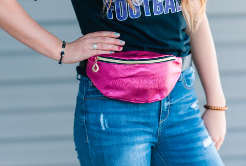 Metallic Faux Leather Fanny Pack 5 Colors