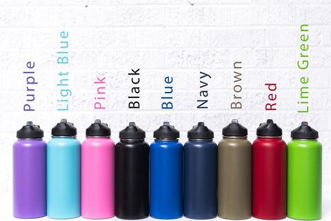 Stainless Steel Insulated Water Flask 9 Colors