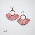 Colorful Tassel Earrings 11 Colors