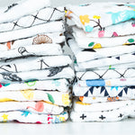 Patterned Swaddle Blankets 24 Styles
