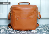 Faux Leather Diaper Bag 3 Colors