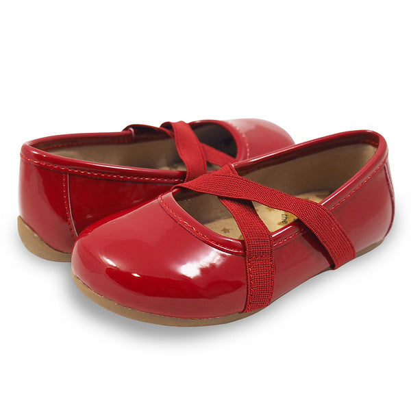 Livie and Luca Aurora Red Patent