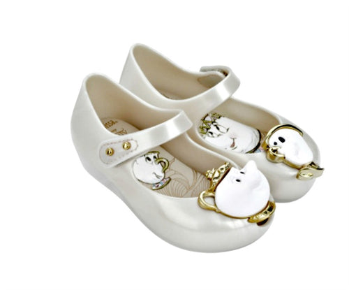 Warehouse Mini Melissa Beauty and the Beast Pearl Chip
