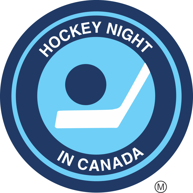 The Hockey Sign - Hockey Night in Canada Retro logo