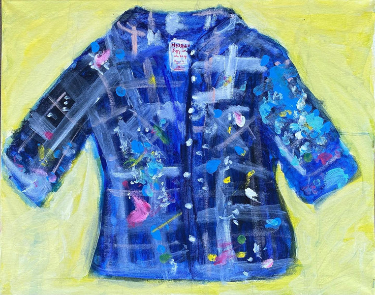 "My sweet painting ""sweater"""