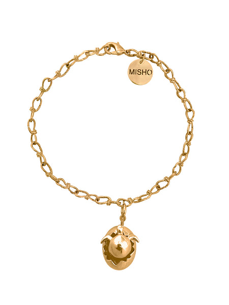 Baby turtle anklet