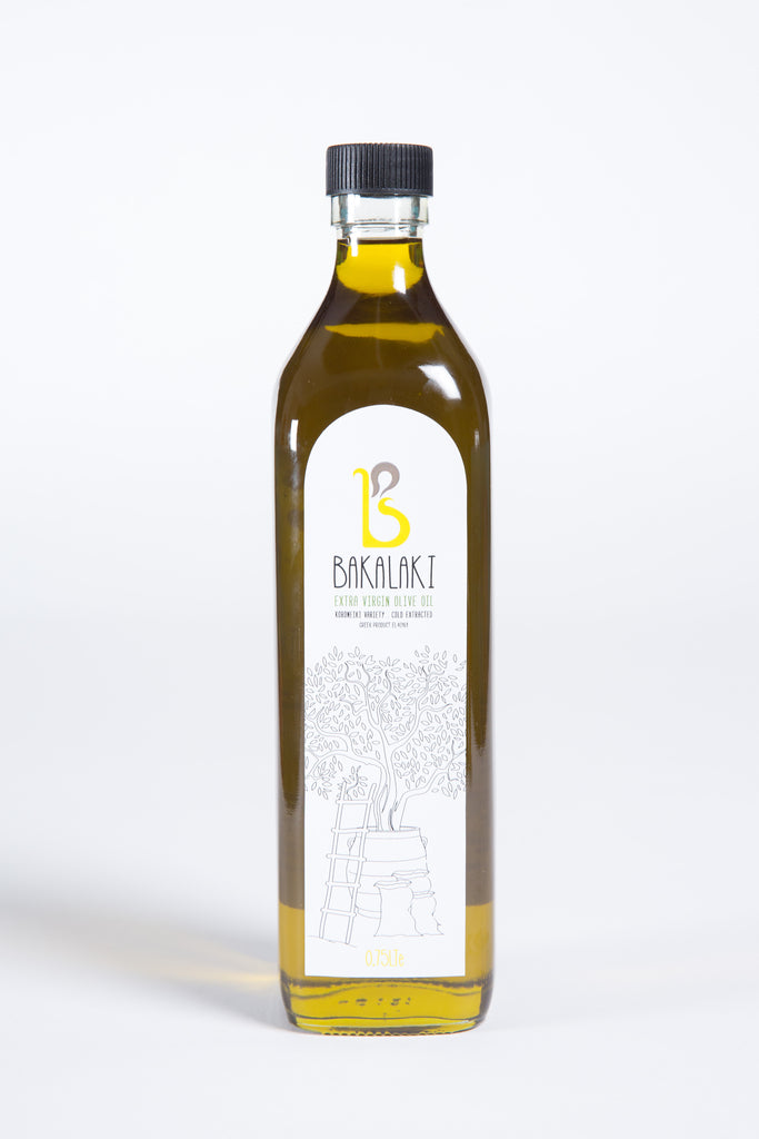 Bakalaki Olive Oil 0.75lt Bottle