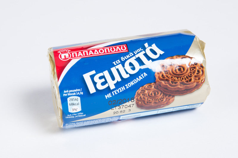Papadopoulou Sandwich Biscuits with chocolate cream 85gr