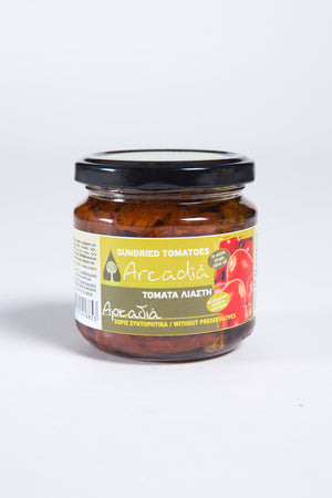 Sundried Tomatoes in Olive Oil - Arcadia 180 gr
