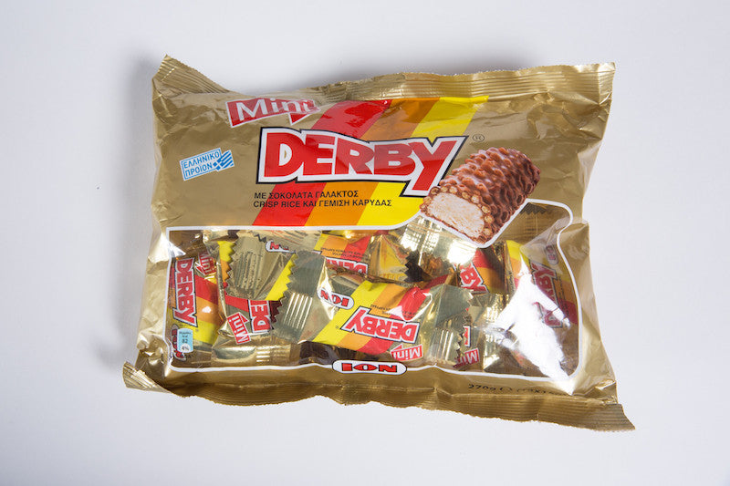 Mini Derby Chocolate ION Bag 270gr
