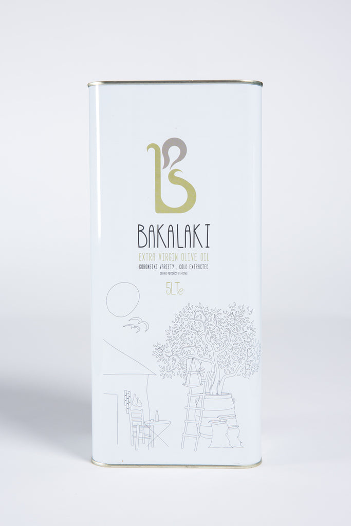 Bakalaki Olive Oil 5lt tin