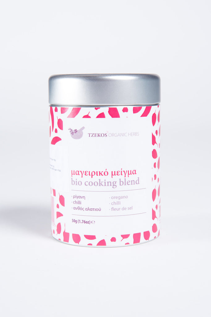Cooking Blend in Tin Box 50gr (Oregano, Chilli & Fleur de sel)