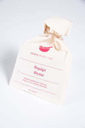 Organic Thyme in Pouches 30gr