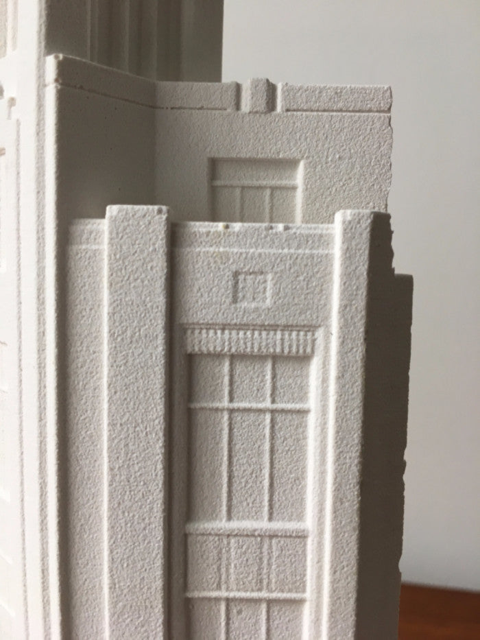 plaster cast model art deco bank of ireland belfast