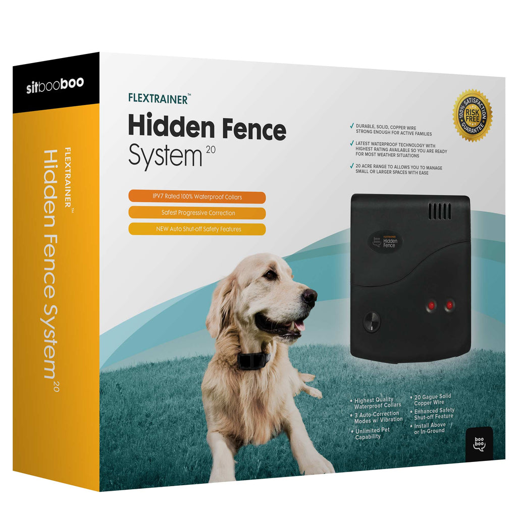 Advanced Hidden Dog Fence (FlexTrainer Series)