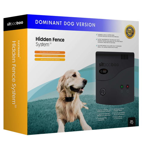 Advanced Hidden Fence for Dominant Dogs (FlexTrainer™ Series)