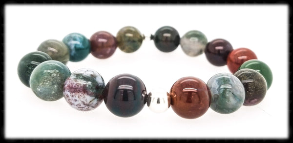 #JGB25- Gemstone Stretch- Jasper