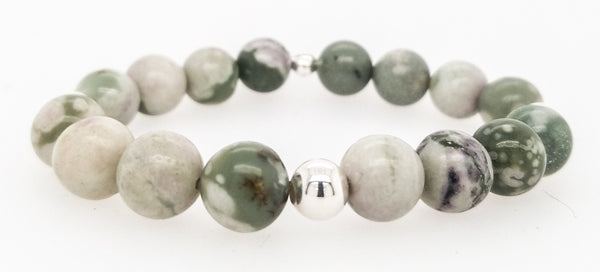 #JGB26- Gemstone Stretch- Peace Jade