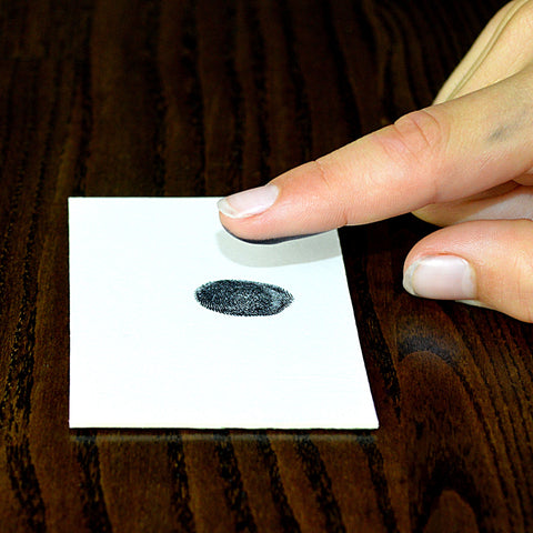 how to take fingerprints for fingerprint wedding rings