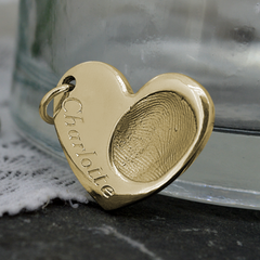 ENGRAVING FOR GOLD FINGERPRINT JEWELLERY STYLE 3