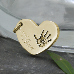 ENGRAVING FOR GOLD FINGERPRINT JEWELLERY STYLE 1