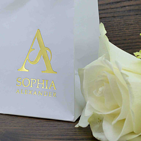 Sophia Alexander Gold Fingerprint Jewellery UK - Luxury Gift Wrap Service