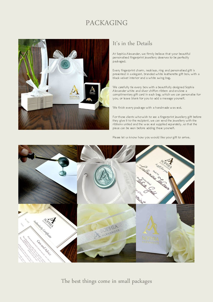 Packaging Design.  Gift wrapping service.  Luxury jewelry packaging.