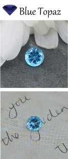 Blue Topaz Birthstone for December