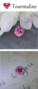 Pink Tourmaline Birthstone for October