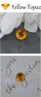 Yellow Topaz Birthstone for November