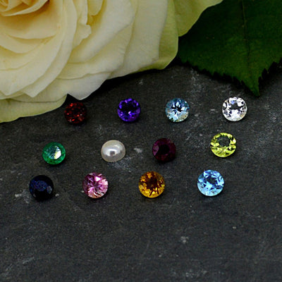 Gemstones and Diamonds for Gold Fingerprint Jewellery
