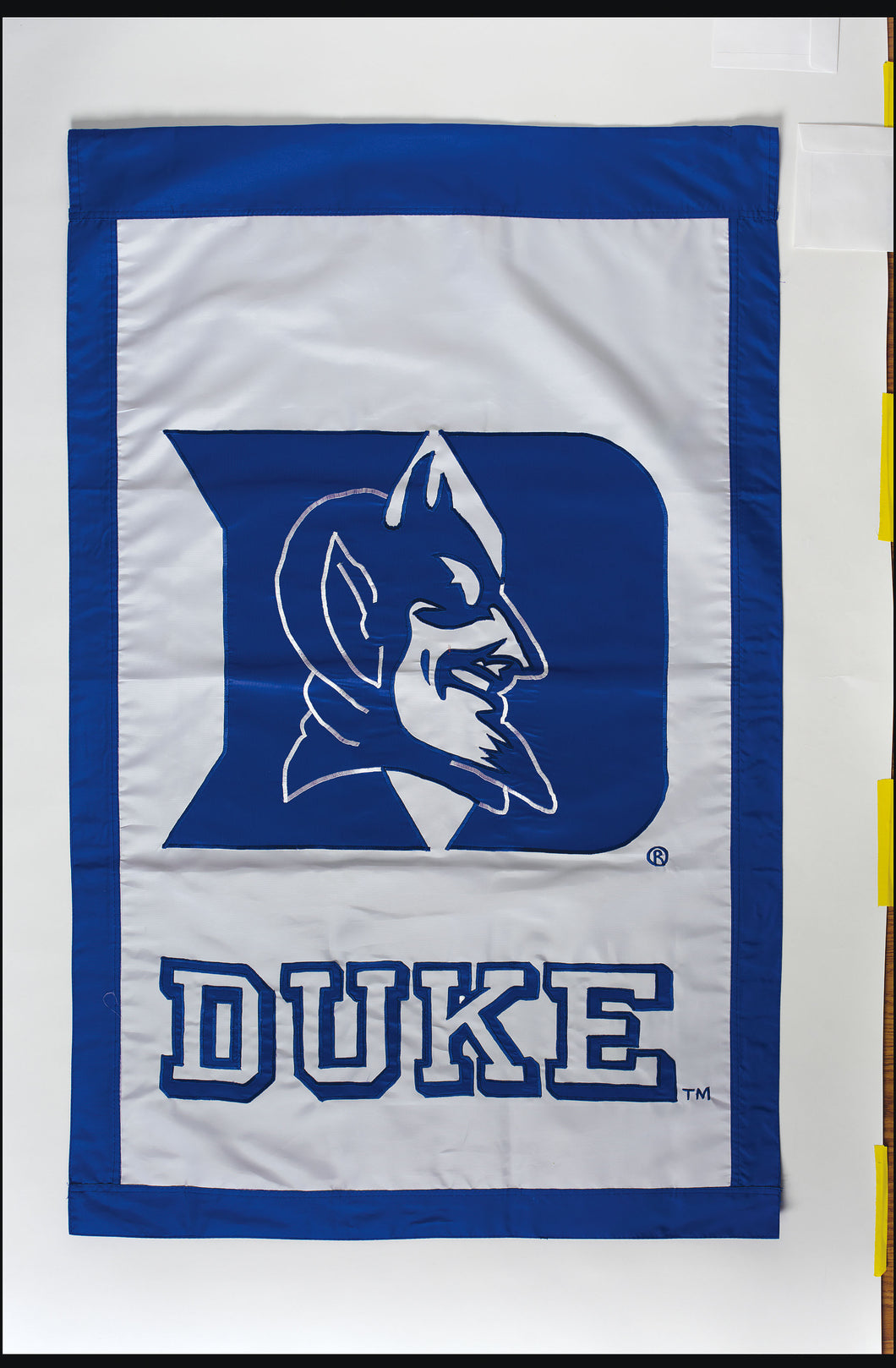 Duke Blue Devils Applique House Flag