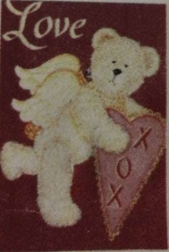 Cupid Bear House Flag