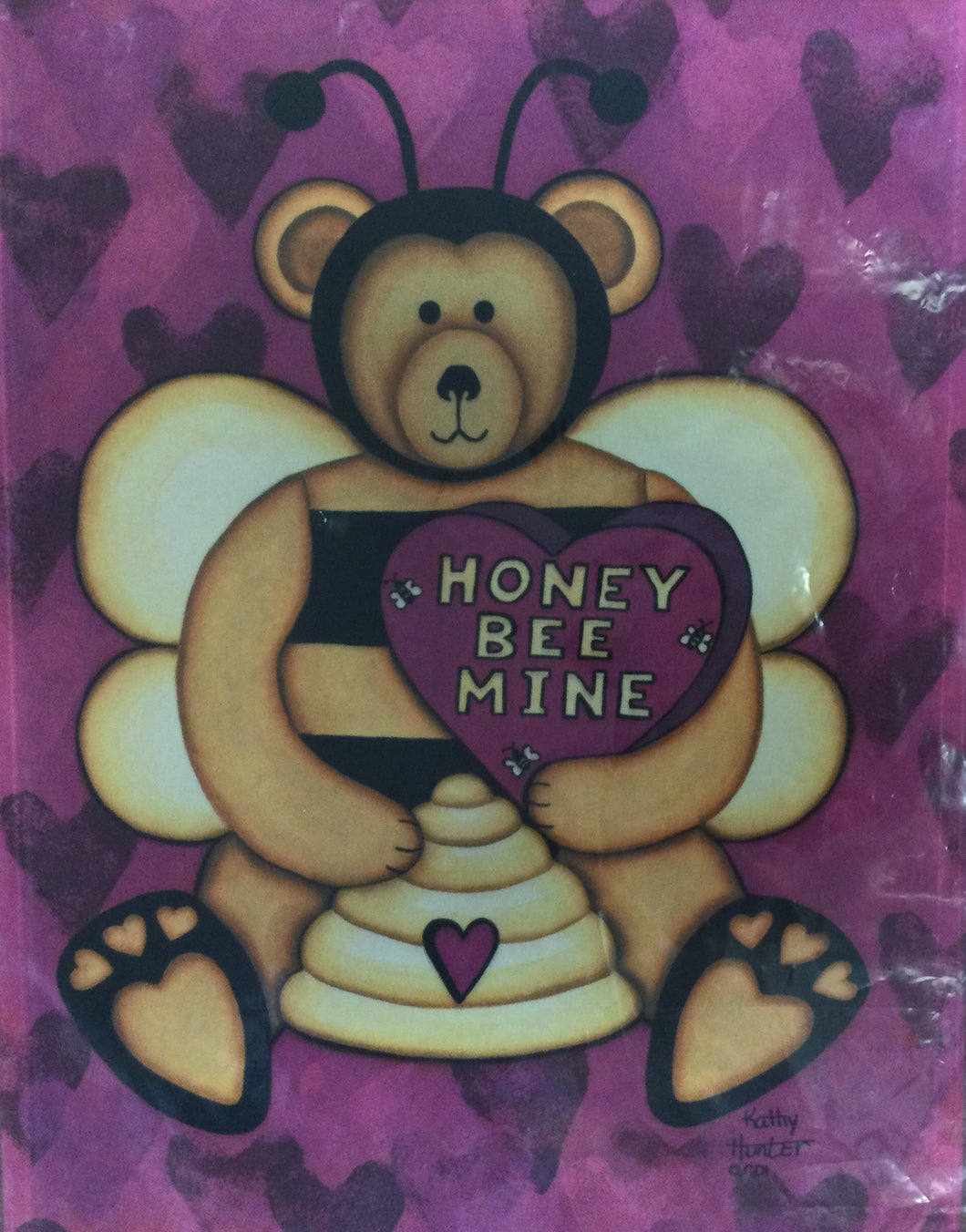 Honey Be Mine Garden Flag