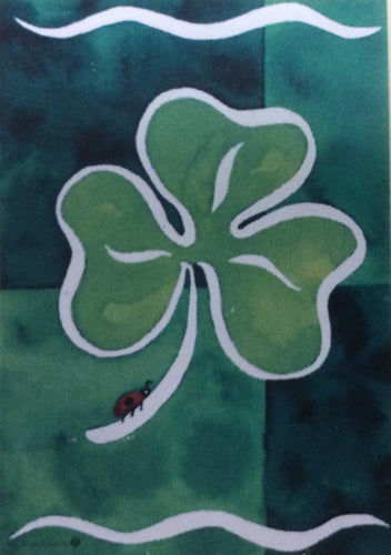 Shamrock & Friend House Flag
