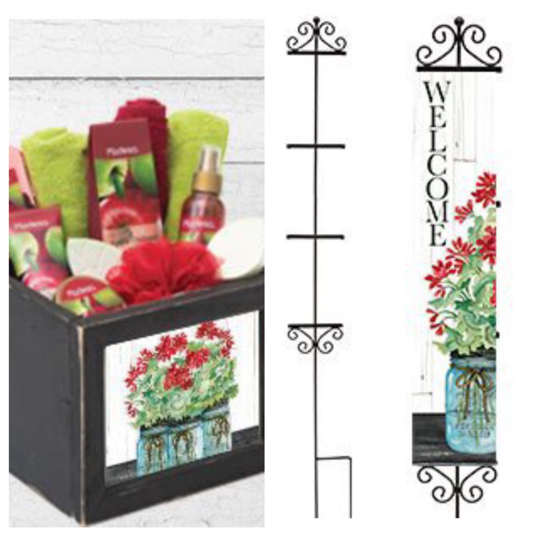 "Creative Crates & Yard Expressions ""A Sample/Description"""