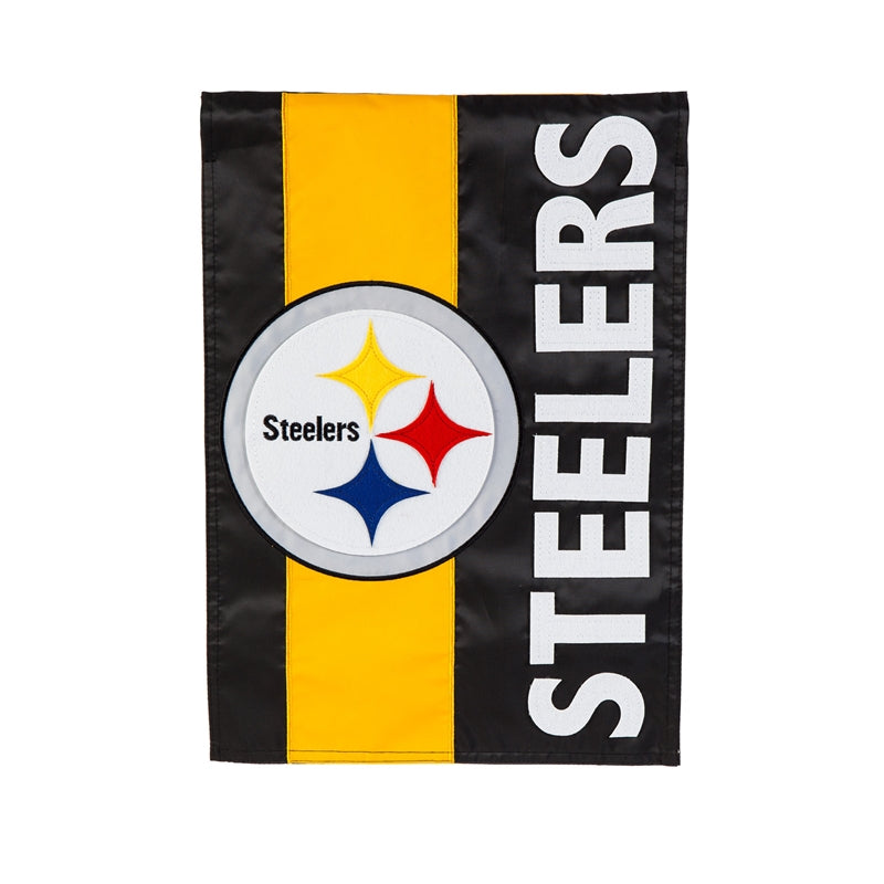 Pittsburg Steelers Embellish Garden Flag